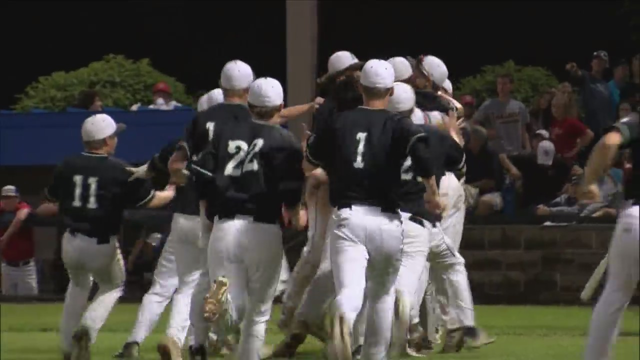 Alleman Baseball is going to State after 7-5 win.