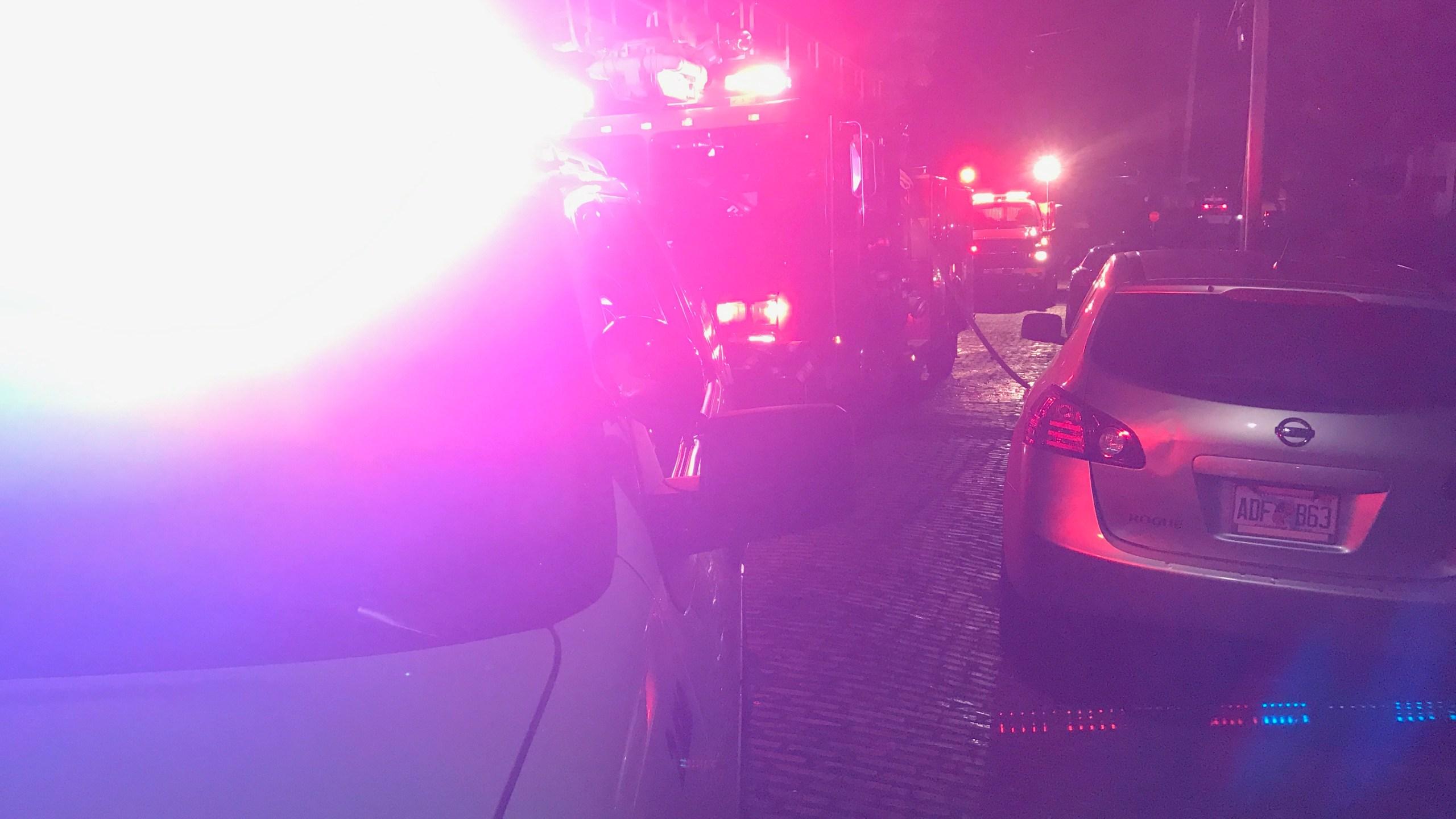 Rock Island shed fire