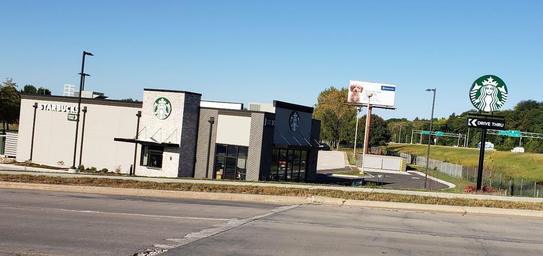 Starbucks on 7th and John Deere Road