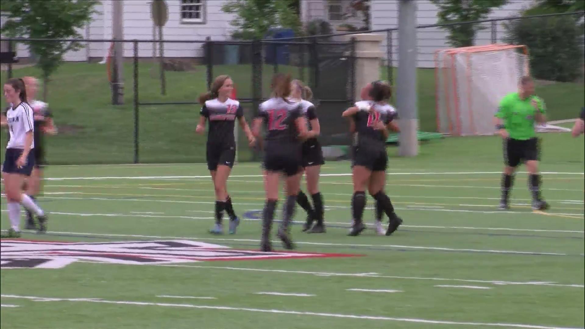 Assumption Girls Soccer wins 3-0.