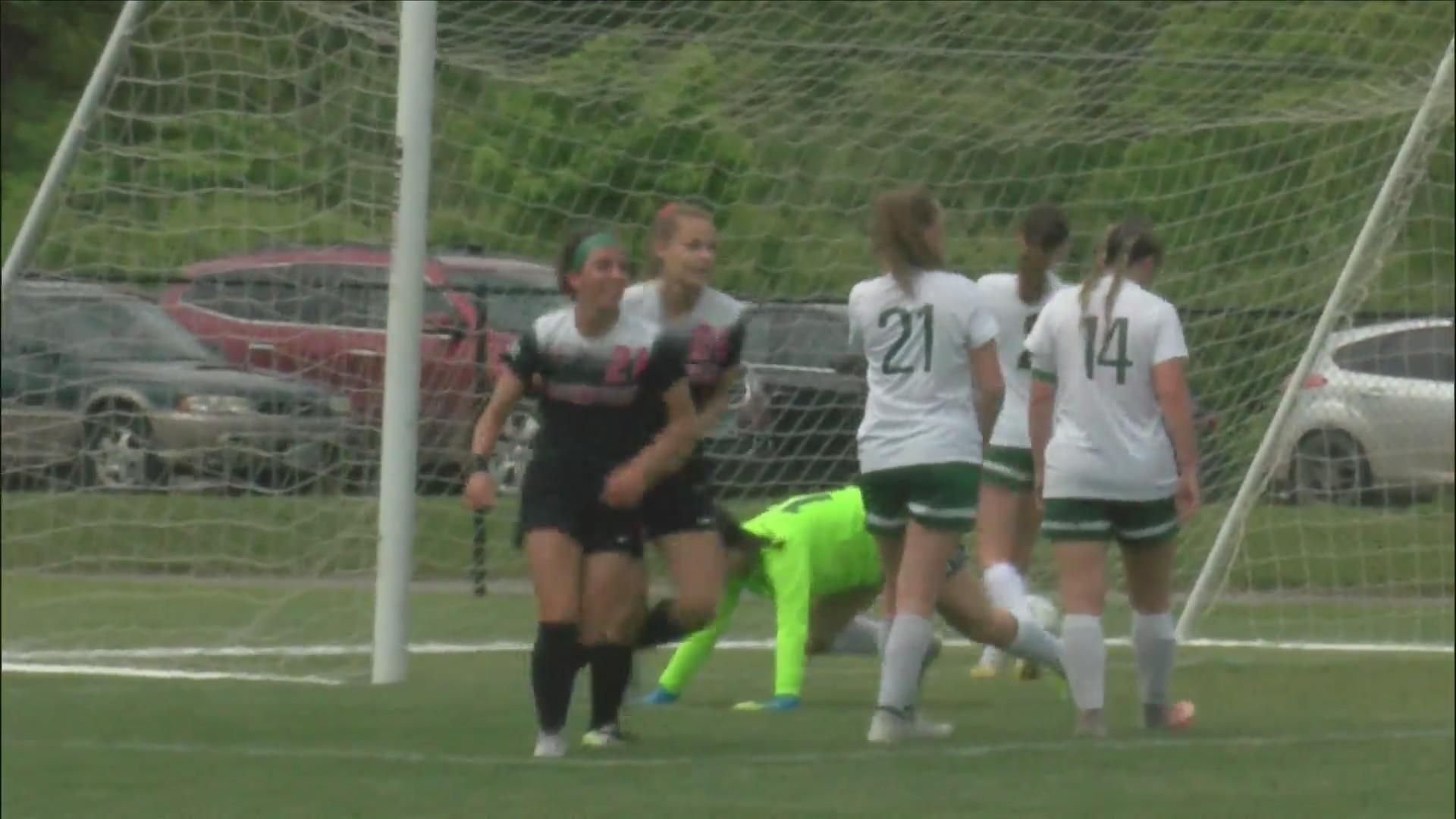 Assumption Girls roll to a 10-0 win.