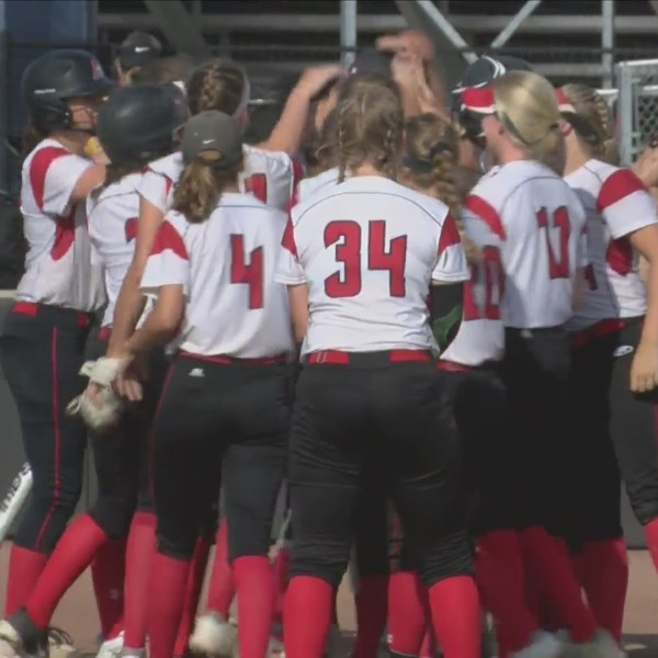 Assumption Softball wins 2 against Bettendorf.