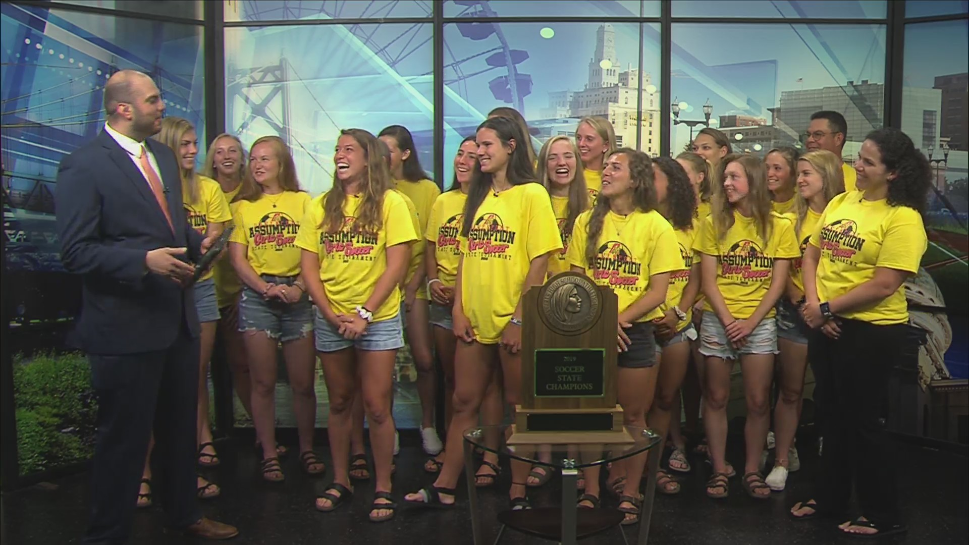 Part two: Assumption Soccer on Fox 18 Sports Sunday