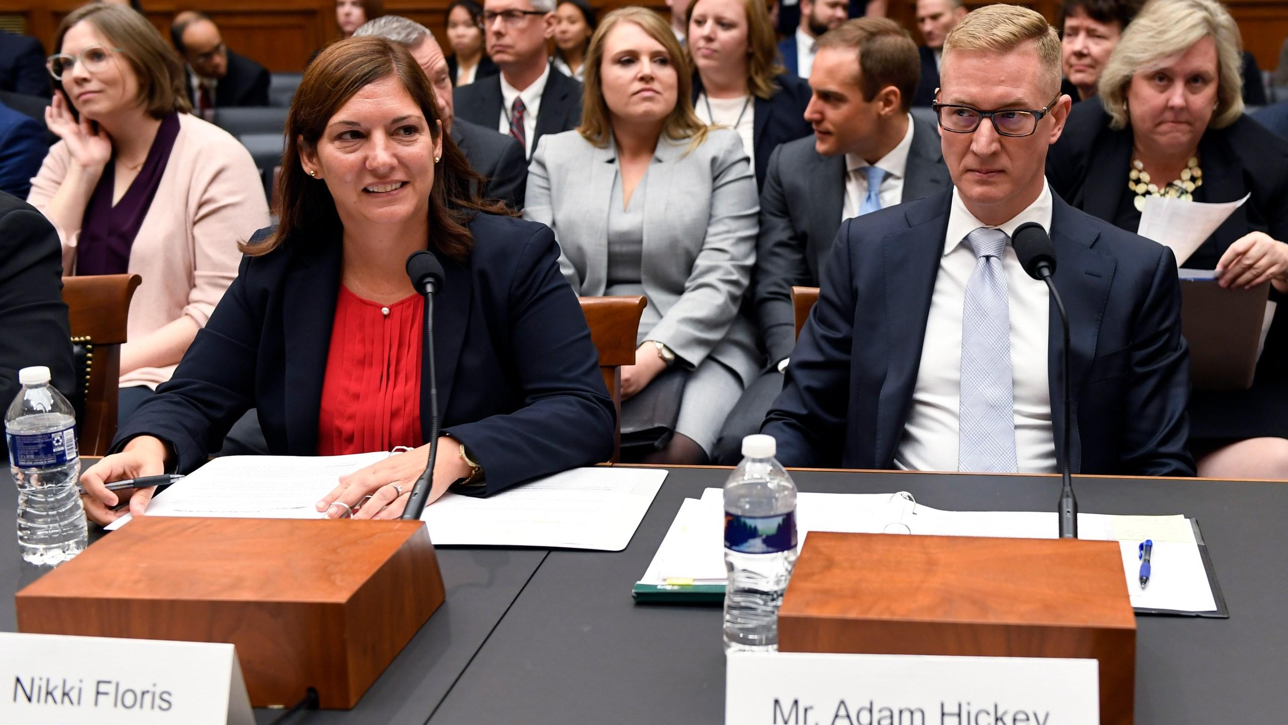 Nikki Floris, Adam Hickey
