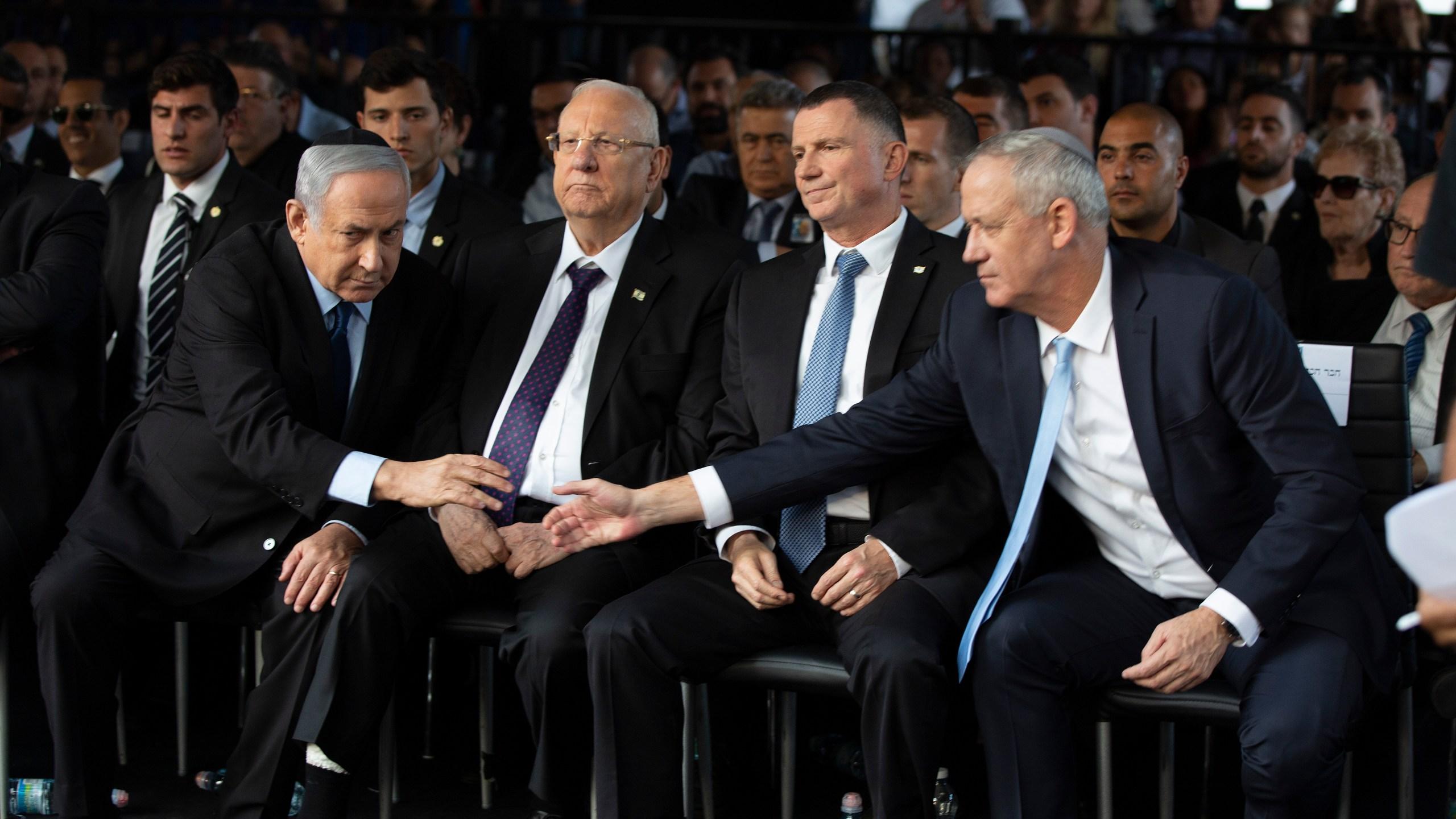 Benny Gantz, Benjamin Netanyahu