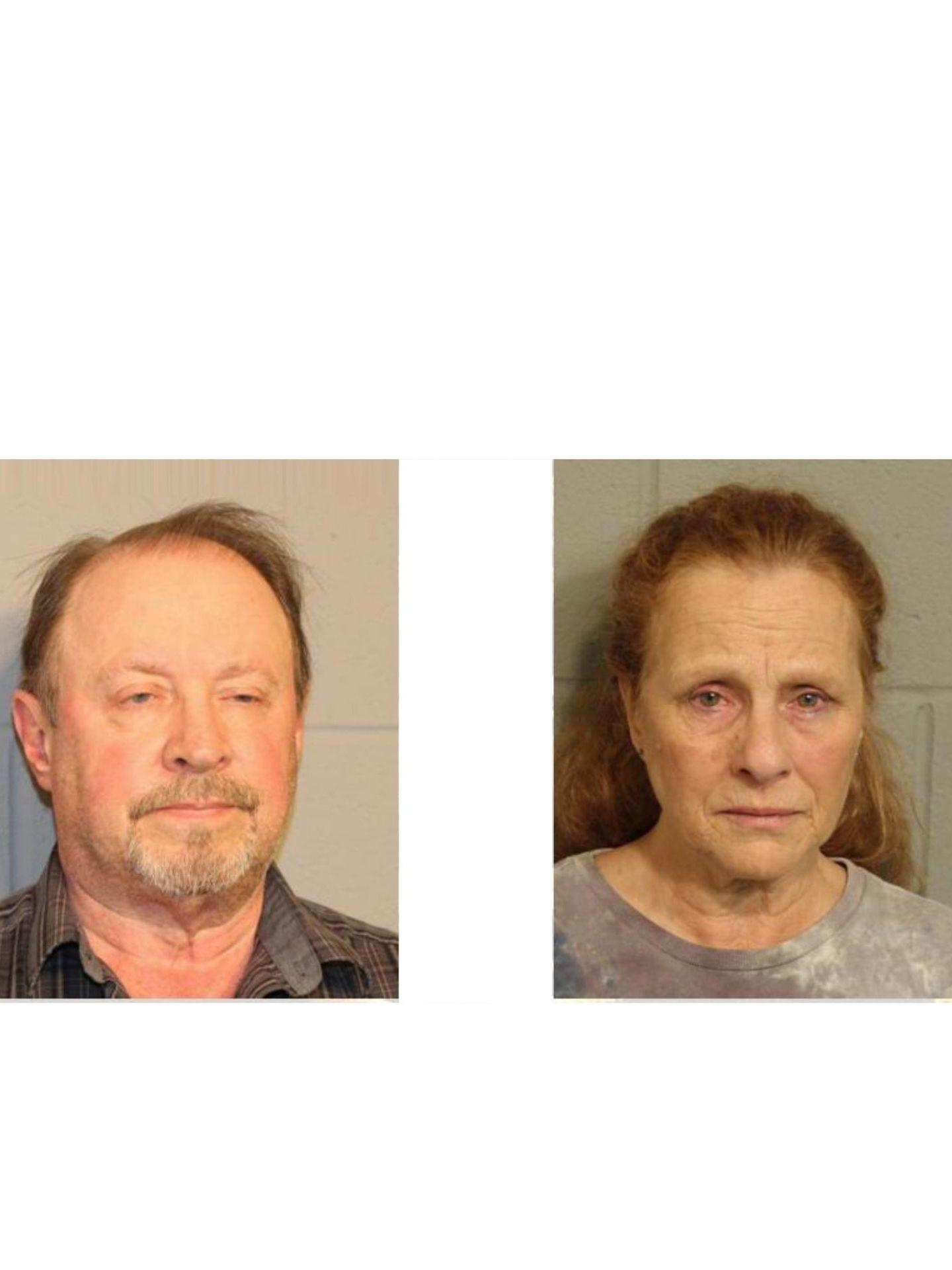 James K. Sheley, 62, (left) and Debra L. Sheley, 62