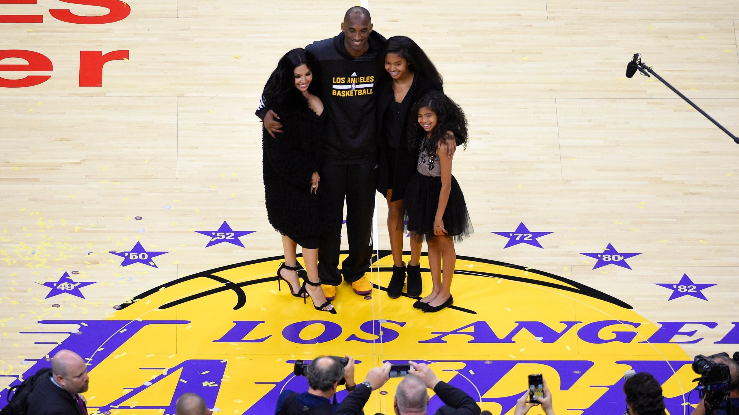 Kobe Bryant, Gianna Bryant, Natalia Bryant, Vanessa Bryant