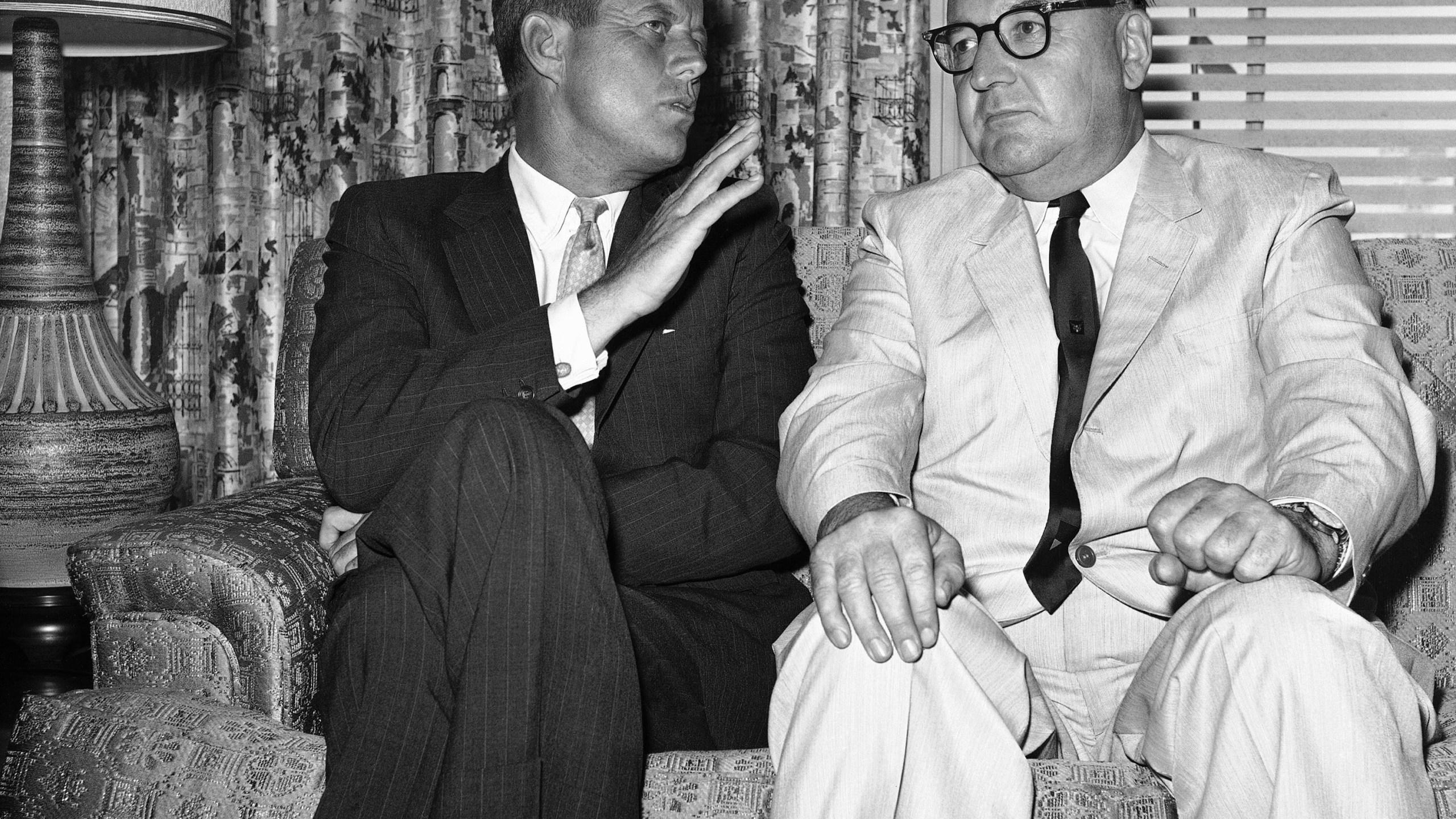 Sen. John F. Kennedy, Edmund G. (Pat) Brown