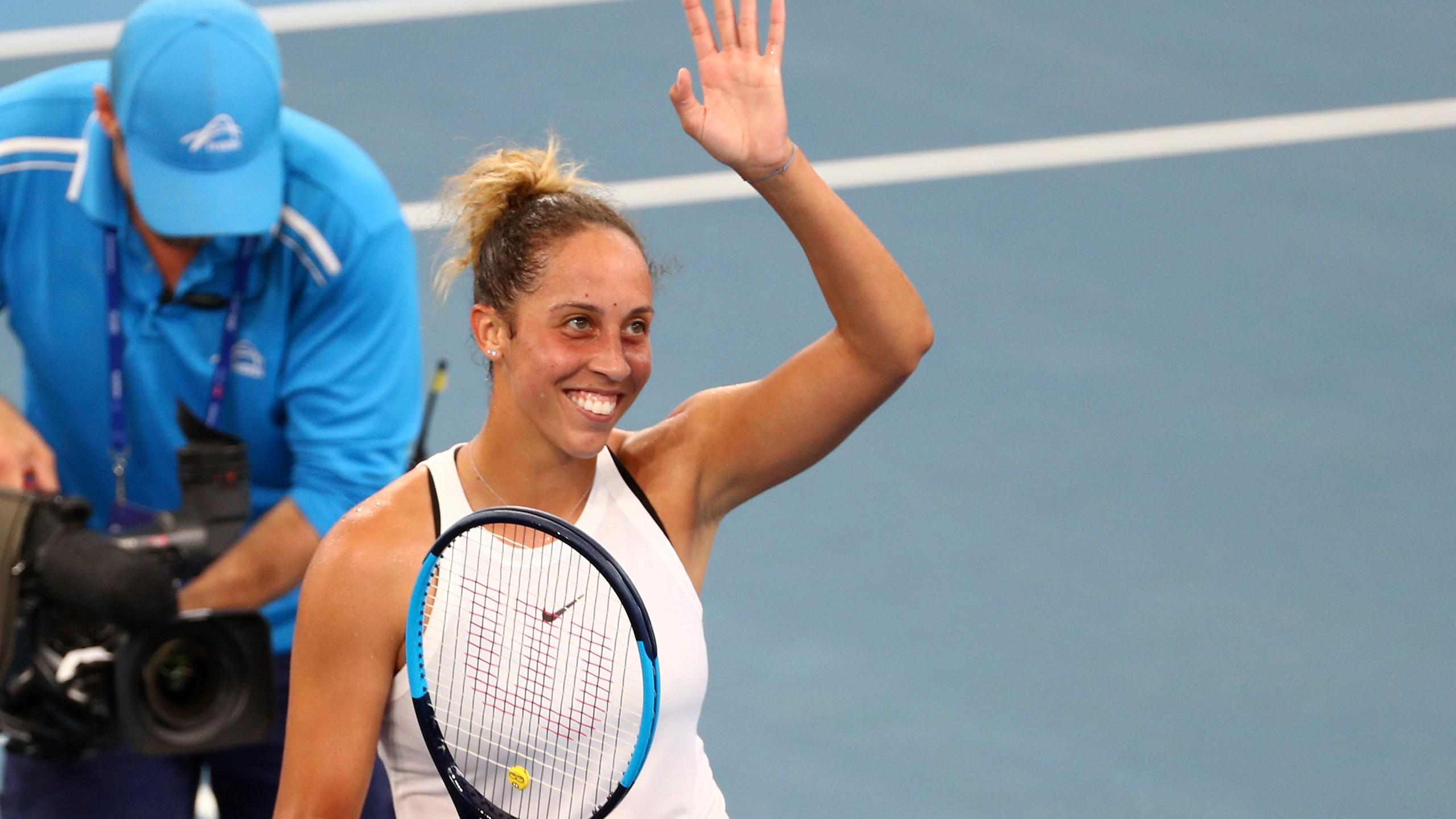 Madison Keys, Brisbane International 2020
