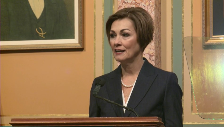 Kim Reynolds during Condition of the State