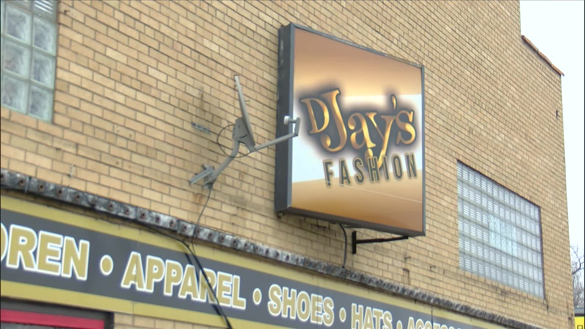 DJays Fashion store front