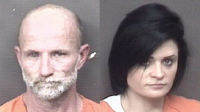 (From left to right) David Jennings, 48; Jade Berhenke, 34