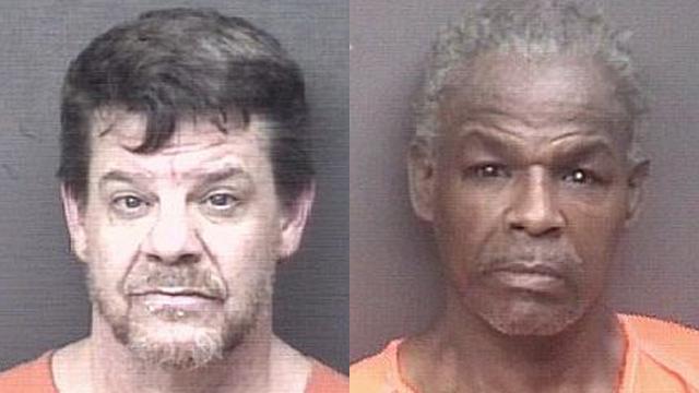 (From left to right) John Steckel, 48; John Hooks, 61
