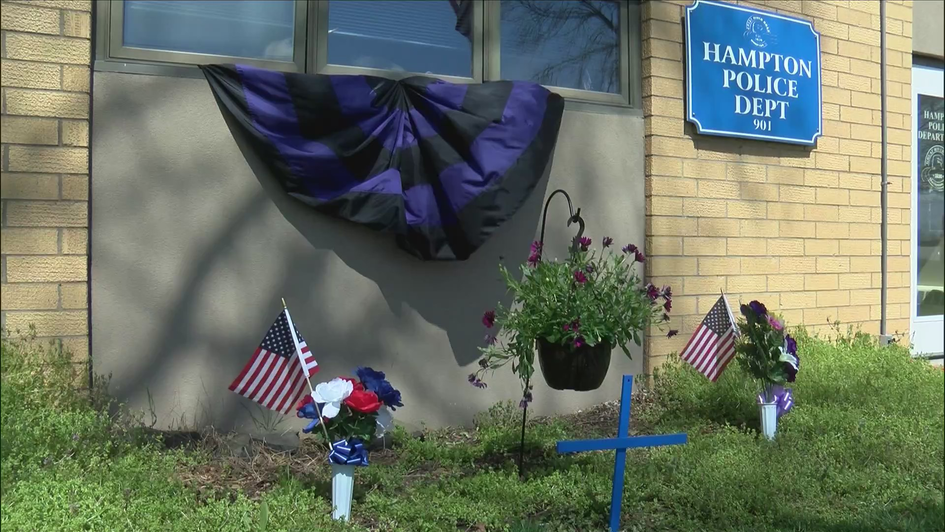 hampton police chief memorial