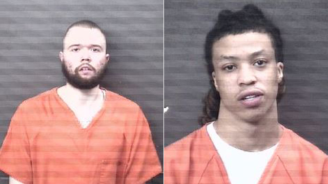 (From left to right) Alonzo Robert Cole, 22, of Rock Island; Thomas Erving Elijah-Hughes, 20, of East Moline.