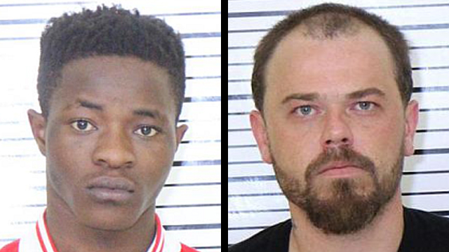 (From left to right) Nibitanga Salvator, 19; James Means, 35.