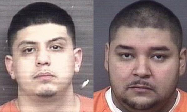 (From left to right) Juan Carlos Hernandez, 24; Manuel Garcia, 34.