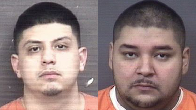 (From left to right) Juan Carlos Hernandez, 24; Manuel Garcia, 34.
