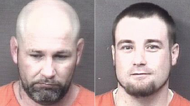 (From left to right) Mason Shea, 33; Chad Harms, 30.