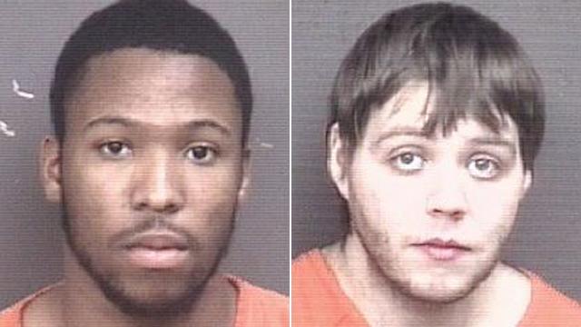 (From left to right) James McKinney, 27; Lucas Elliott, 28.