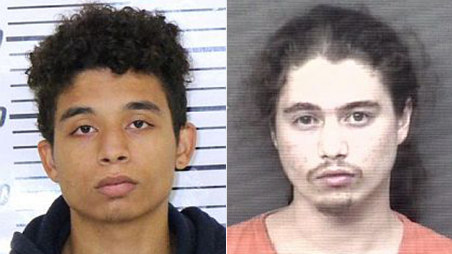 (From left to right) Drew Gambleton, 22; Javon Jernigan, 20.