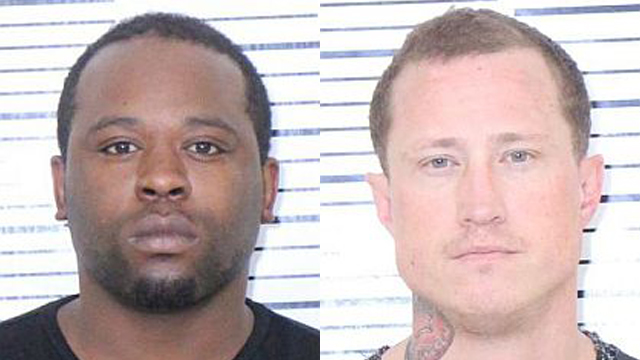 (From left to right) Roemello Jones, 25; Jonathon Skinner, 37.