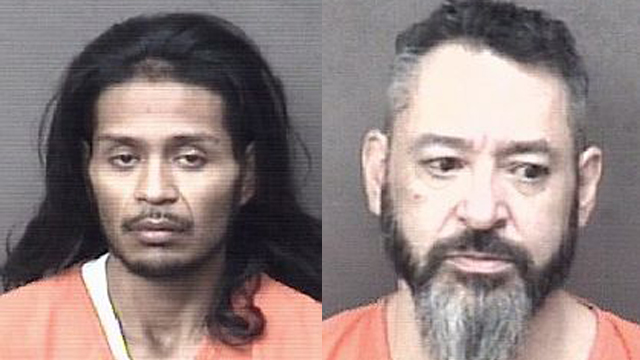 (From left to right) Oscar Hernandez, 23; Anthony Soteco, 48.