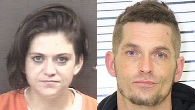 (From left to right) Carly Baguss, 28; Brandon Satern, 41.