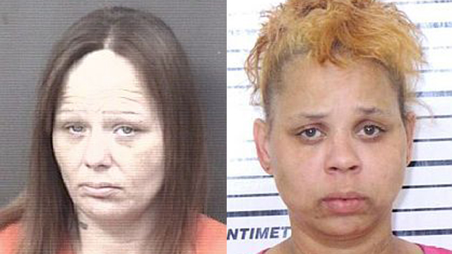 (From left to right) Nicole Gasper, 37; Lana Shariff, 40.
