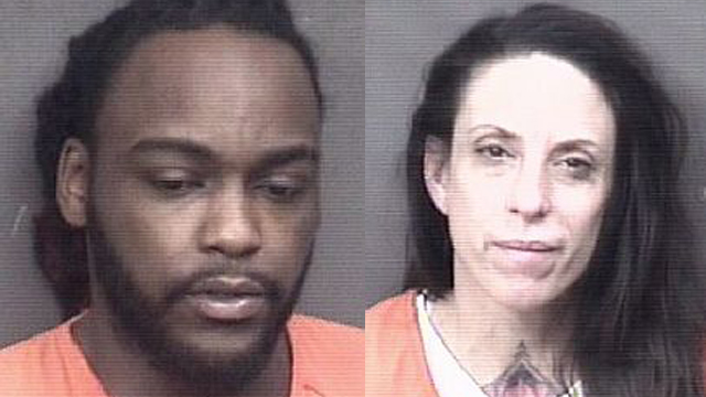 (From left to right) Louis Shannon, 31; Angela Zaglauer, 46.