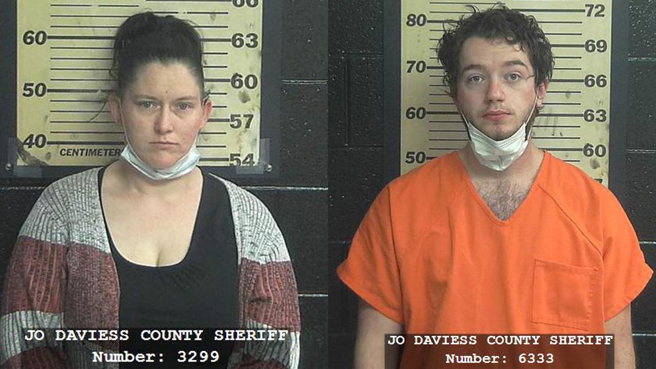 (From left to right) Shannon M. Bertucci, 38, of Hanover; Gavin J. Carter, 21, of Hanover.