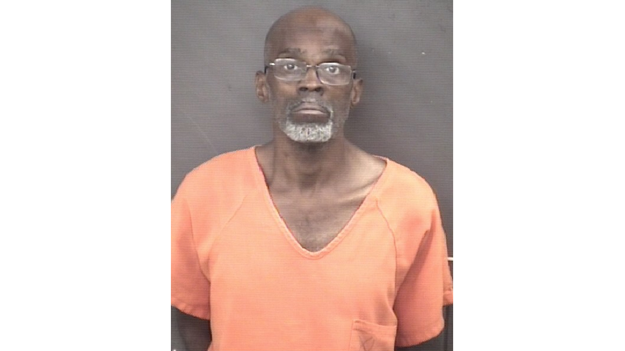 Jimmy Johnson, 52, of Moline, was arrested by the Moline Police for an armed robbery at the Eagles Nest convenience store on October 1, 2020.