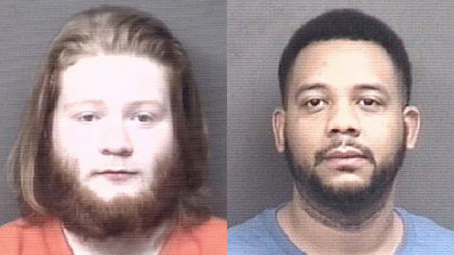(From left to right) Jeremy Monsoor, 22; Jovonti Wells, 34.