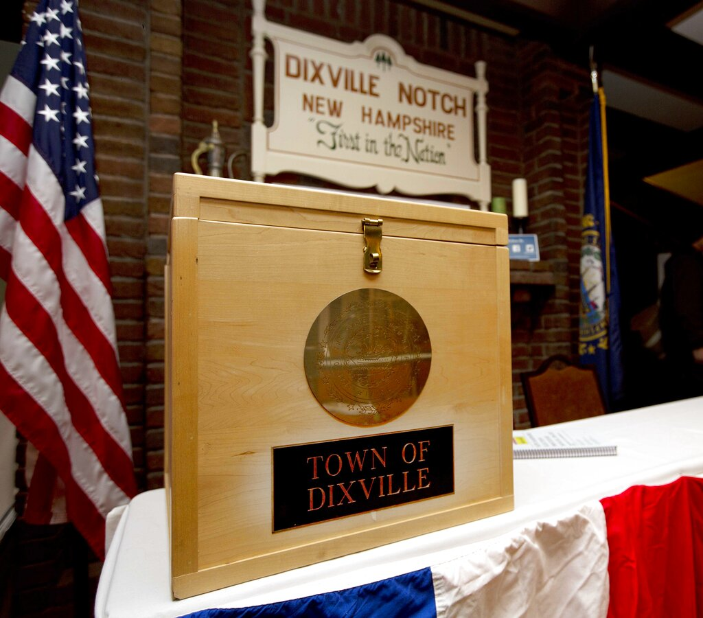 Biden sweeps traditional Dixville Notch opener | OurQuadCities