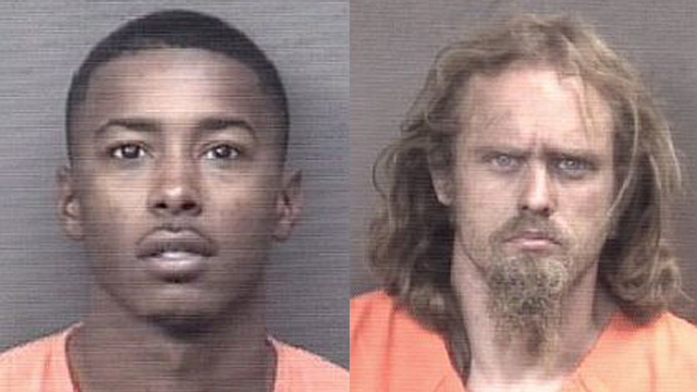 (From left to right) Lynn Brooks III, 27; Erik Lambert, 36.