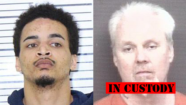 (From left to right) Jalen Causey, 23; Howard Frye, 52.