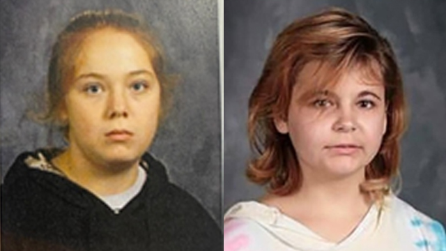 Elizabeth Rogers, 14 (left), and Rylea Ostrander, 13, were reported missing on January 7, 2021, by the Clinton County Sheriff's Office and the Jones County Sheriff's Office.