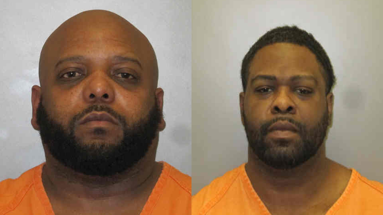 (From left to right) Corey Dean Lowery, 42, of Burlington; Damario Johnson, 37, of Burlington.
