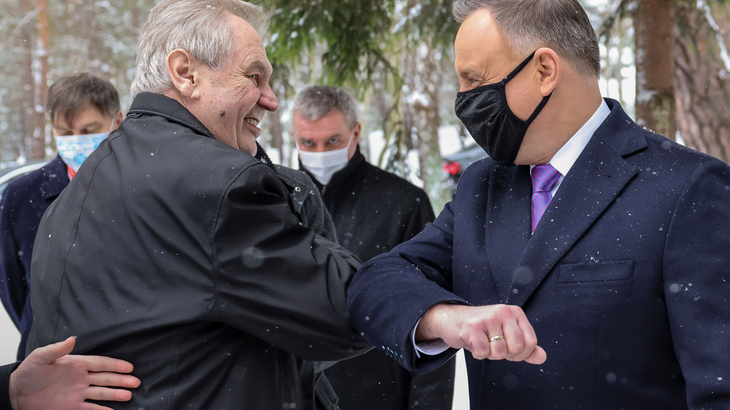 Andrzej Duda, Milos Zeman