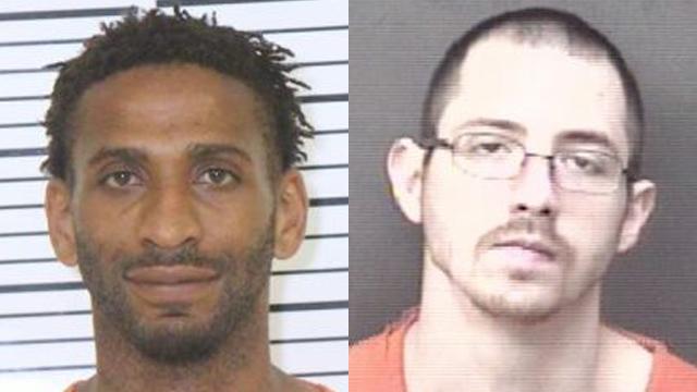 (From left to right) Juwaun Shorter, 32; Ryan Kirby, 28.