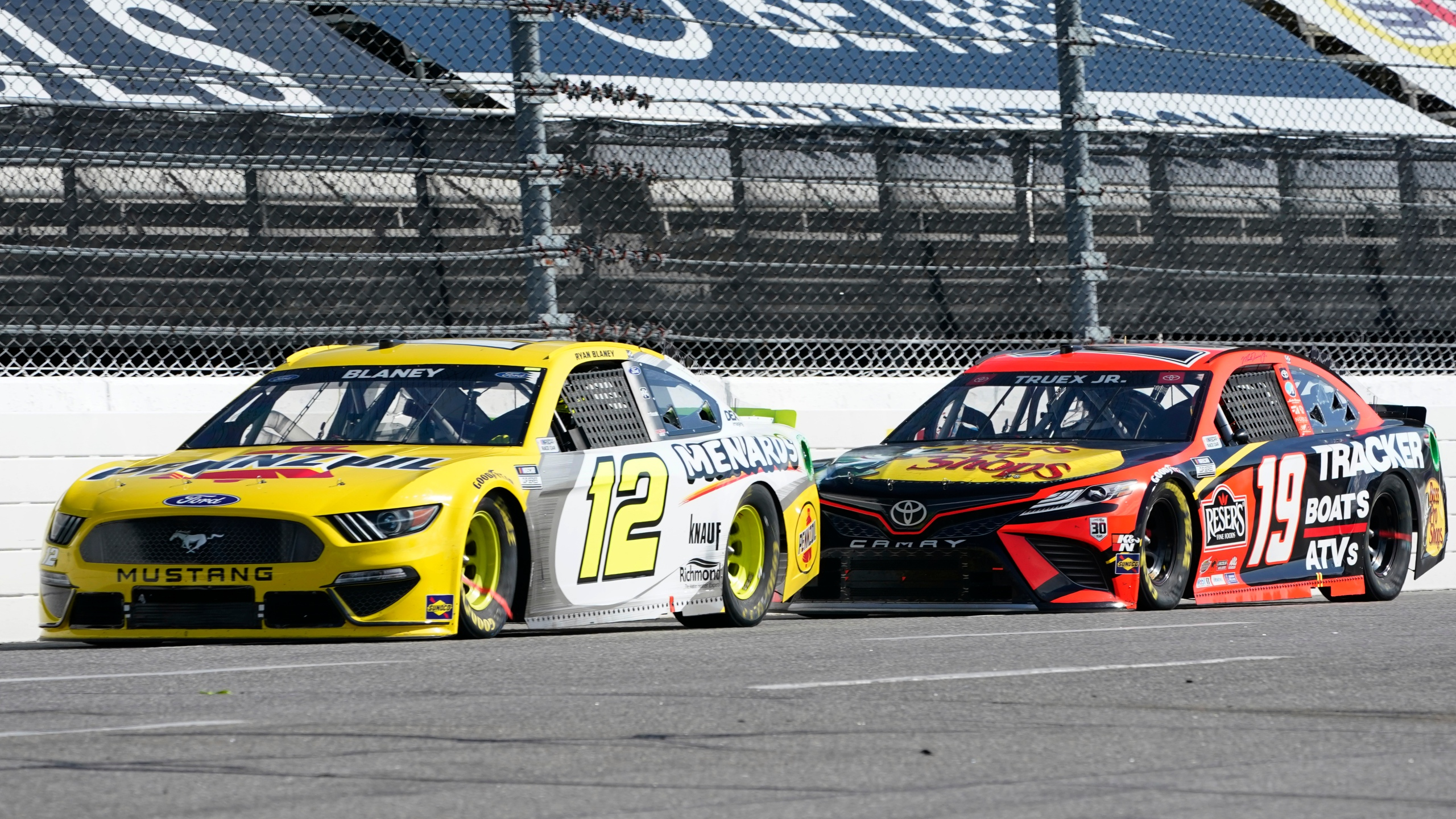 Ryan Blaney, Martin Truex Jr.